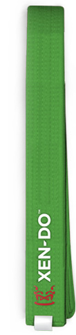 Xen-Do Green Kickboxing / Martial Arts Belt