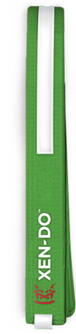 Xen-Do Green Stripe Kickboxing / Martial Arts Belt
