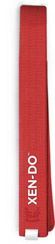 Xen-Do Red Kickboxing / Martial Arts Belt
