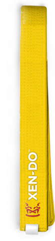 Xen-Do Yellow Kickboxing / Martial Arts Belt