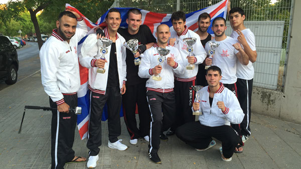 June 2015 and Team -Xen-Do compete in the Barcelona Open Championships