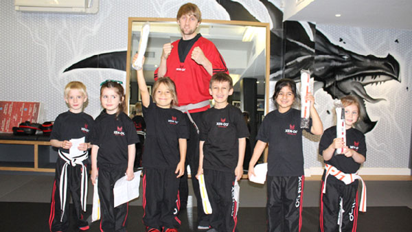 Xen-Do students continue their conquest for Black Belt through Hybrid curriculum