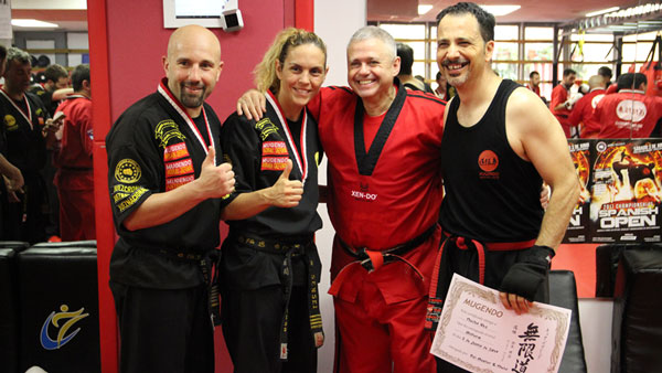 Dai Master Rafael Nieto offers a special course for professionals and black belts at Mugendo Gracia School of Martial Arts and Self Defence in Barcelona, Spain.