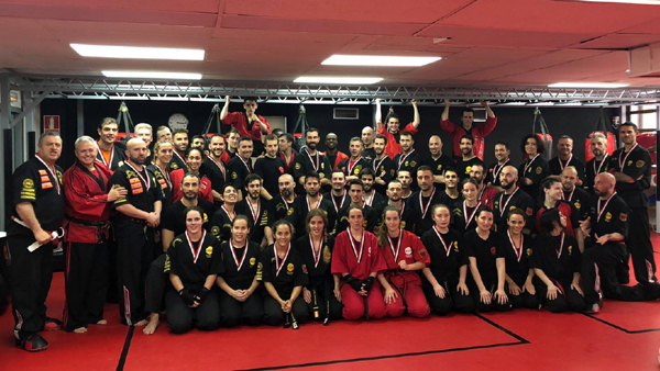 The Xen-Do and Mugendo Martial Arts families reunited at the Super Sparring course in Barcelona
