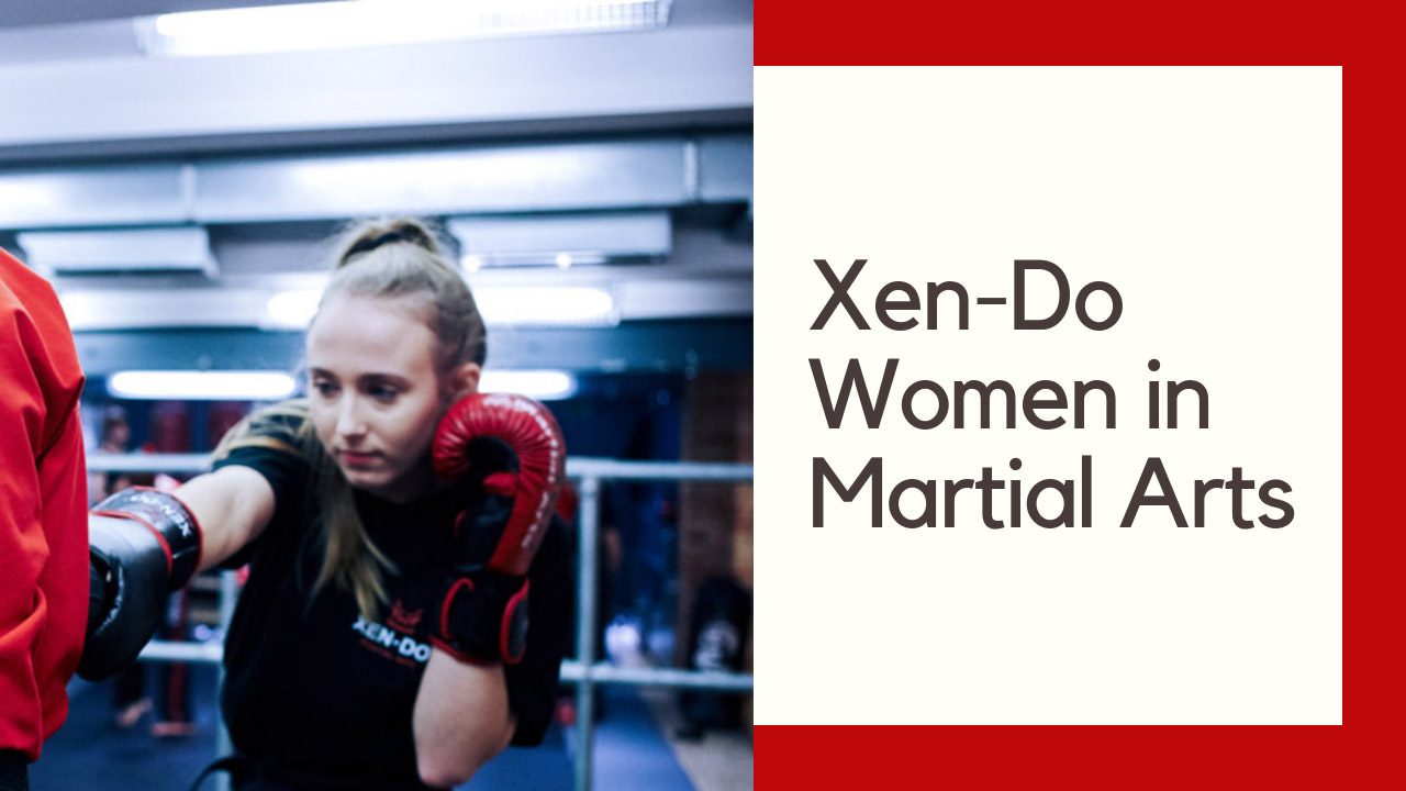 Female participation in Martial Arts is increasing rapidly. Kickboxing has long been viewed as a male dominated sport and yet here at Xen-Do we're breaking this mould.