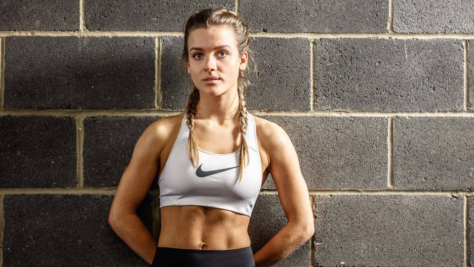 amazing health and fitness influencer, Flora