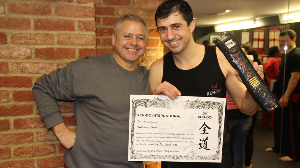 Learning the Xen-Do Vision: Sensei Anthony's Story